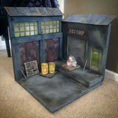 1/12 Scale Custom Diorama Action Figure Display Marvel Legends Batman Neca Tmnt