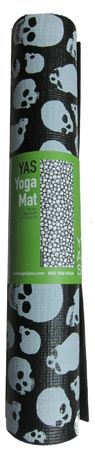 Skull Yoga Mat. I NEED IT NOWWWWW