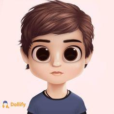 What a cutie 😂 - - - Cute Cartoon Boy, Cute Couple Cartoon, The Outsiders Johnny, Fake Mustaches, Kawaii Disney, Anime Tumblr, The Dark Artifices, Anime Wolf, Fan Art