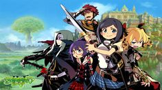 Coming to the 3DS, Etrian Odyssey and the Mystery Dungeon is a top-down dungeon RPG. Description from loadthegame.com. I searched for this on bing.com/images