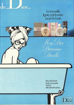 Dior Bains 1975 - Gruau