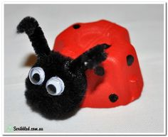 Make your own Egg Carton Ladybug — Edgalaxy: Cool Stuff for Nerdy teachers