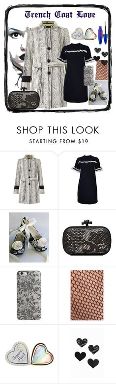 """Trench Coat Love"" by cheryl-muscoe ❤ liked on Polyvore featuring James Lakeland, Bottega Veneta, Agent 18, Halogen, Bristols6, Maybelline and trenchcoat"