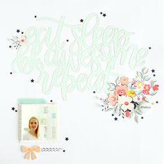 Be Awesome | Scrapbooking Layout | Felicity Jane September Kit