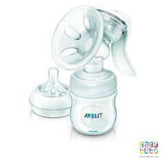 Extractor de leche manual natural. Marca: Avent http://www.babytuto.com/productos/lactancia-extractores-de-leche-extractores-manuales,extractor-de-leche-manual-natural,2051?bt_f=brand