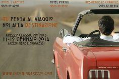 La cartolina dei nostri Hotel per Arezzo Classic Motors 2014
