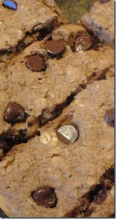 home made healthier version of Cliff Kid z bar 120 cal