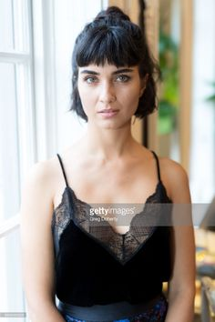 Actress Tuba Buyukustun attends a reception as Angelina Jolie Accepts the Rising Star Award on behalf of 'First They Killed My Father' actress, Sreymoch Sareum, from the Asian World Film Festival on October 30, 2017 in Los Angeles, California.