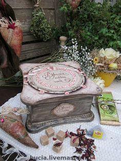 """Чайный короб""""Время пить чай""""продан - короб,для чайных пакетиков,оригинальный подарок"""