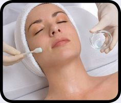 Derm Renewal Peel at Visage Medispa.  A professional deep exfoliation treatment that combines a performing high technology patented complex, offering the full benefits of AHAs without the sting.