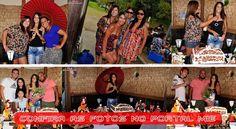 Parentes e amigos de Tathiane organizaram uma festa surpresa para comemorar seus 16 aninhos.