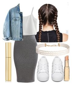 """Untitled #485"" by the-fashion-fantasy ❤ liked on Polyvore featuring Ultimate, Chicwish, Calvin Klein, adidas Originals, AERIN and Humble Chic"