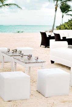 A Modern Beach Wedding in the Dominican Republic | Beach Weddings | Real Weddings | Brides.com | Brides.com