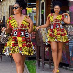 Most stylish collection of ankara short gown styles of 2019 trending today, try these short ankara gown styles African Fashion Ankara, African Inspired Fashion, Latest African Fashion Dresses, African Print Dresses, African Print Fashion, African Dress, African Clothes, Tribal Fashion, African Fabric