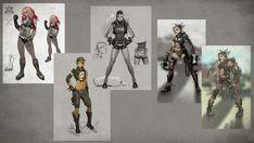Cassie Ideas - Characters & Art - Mortal Kombat X