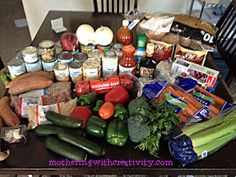 Mothering with Creativity: 29 Freezer Crock Pot Meals for Under $135