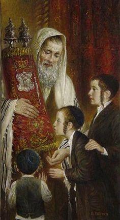 Elena Flerova -Kissing the Torah