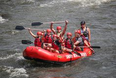 White water rafting near Gatlinburg is one of the most unique ways to experience the nature that makes up the Smokies.