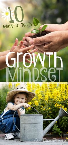 Learn some tips for raising a child with a growth mindset. Also find book recommendations and parenting strategies!