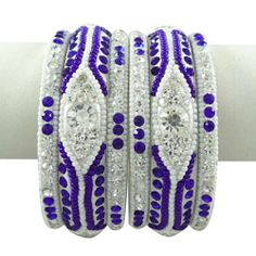 Royal Blue CZ Steinarmband September Kundan Schmuck Damen Ethnische indischen Schmuck 2 * 4 | Your #1 Source for Jewelry and Accessories