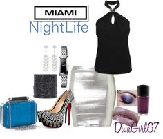"""""""Miami NightLife"""" by michele-carrion on Polyvore"""