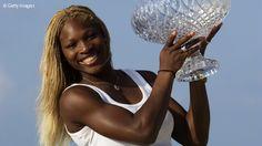 Serena Williams finally beat Venus Williams in the Sony Open Tennis semifinals then Capriati for the title in 2002.