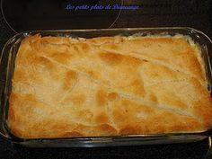 Pâté au poulet Pillsbury Pillsbury, Croissant, Pot Pie, Cornbread, Ricotta, Chicken, Ethnic Recipes, Diane, Desserts