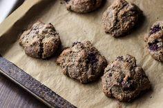 Blackberry Buckwheat Cream Scones (gf+v) | saltedplains.com