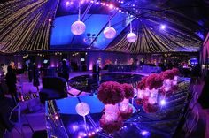 decor // Hot Pink Decor / Grammy Party / Classic Party Rentals / Revelry Event Designers / LA Live