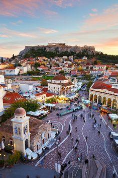 Lo más nuevo de Atenas en la ciudad más clásica