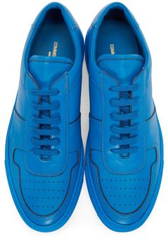 Common Projects - Blue Bball Sneakers
