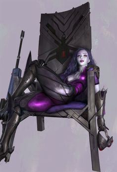 widowmaker, Sangsoo Jeong on ArtStation at https://www.artstation.com/artwork/9LnRo