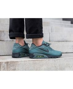 new style 42b26 5a11a Men s Nike Air Max 90 Ultra SE Hasta Hasta Ghost Green Anthracite 845039