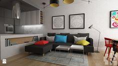 Mieszkanie na Łowickiej - Salon, styl nowoczesny - zdjęcie od Przestrzenie