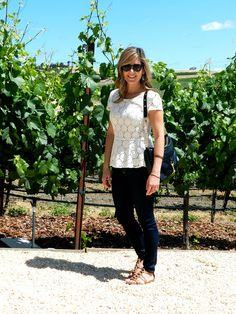 What I wore - weekend in Napa!