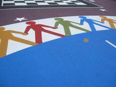 Alternative Paving Concepts. Beautiful StreetBond playground. Takoma Park, MD