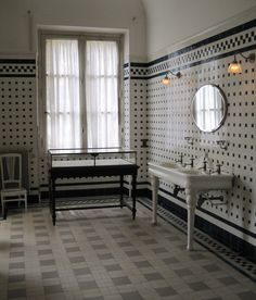 bathroom, hotel Nissim de Camondo