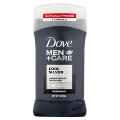 Dove Men+Care Cool Silver Deodorant Stick, 3 oz - Walmart.com