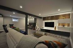 When it comes to remodeling your house, there is no other area of the home that is usually more fun to remodel than the garage Transformer Un Garage, Basement Furniture, Basement Stairs, Basement Laundry, Basement Ideas, Converted Garage, Garage Remodel, Garage Gym, Double Garage