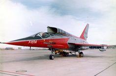 North American YF-107A, 1956
