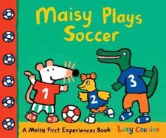 Tuesday, May 24, 2016. Maisy and her friends can't wait to play soccer! Maisy puts on her uniform, laces up her sneakers, and heads to the field. Charlie, Tallulah, and Dotty are on the blue team, while Tuesday, May 24, 2016. Maisy, Cyril, and Eddie are on the red. Let's play! Soon enough the game heats up, with plenty of action, excitement, and suspense.