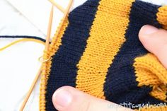 Knitting Tutorial: How to Carry Up Yarn in the Round