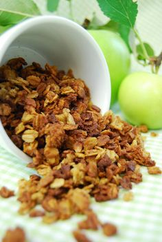 Fresh Apple Granola...... Real Apples.... Picked from our trees.