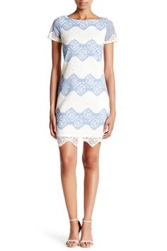 Lace Shift Dress by Maggy London on @nordstrom_rack