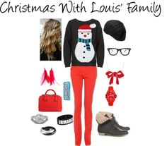 """Christmas With Louis' Family"" by niall-is-the-best on Polyvore"