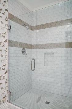 Bathroom Subway Tile Design Interesting Landsdalemarble Wall Subway Tile  Marble Subway Tiles Subway Design Inspiration