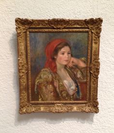 Billeder her af Pierre-Auguste Renoir hænger på Gøteborgs Kunstmuseum. Renoir, fransk impressiostisk maler startede som porcelænsmaler derefter malede han rullegardiner og tjente så godt at han kunne dyrke malerkunsten.