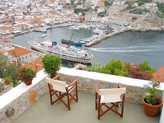 Hydra Island house rental - view from the veranda