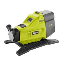 Check out this RYOBI product -   	  The RYOBI 18V Hybrid Transfer Pump is a new offering from the ONE+ system of over 70 great tools. This transfer pump is unique in that it has Hybrid Technology, meaning it can run off a RYOBI ONE+ battery or electric power with an extension cord. The cordless convenience makes this pump one of the most portable on the market. The 18-Volt ONE+ Hybrid Transfer Pump is sold as a bare tool allowing you to build on to your ONE+ System. Best of all, like every…