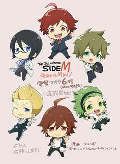 the idolm sideM Ensemble Stars, Gods And Goddesses, Touken Ranbu, Anime, Side M, Mini, My Hero, Design Art, Idol